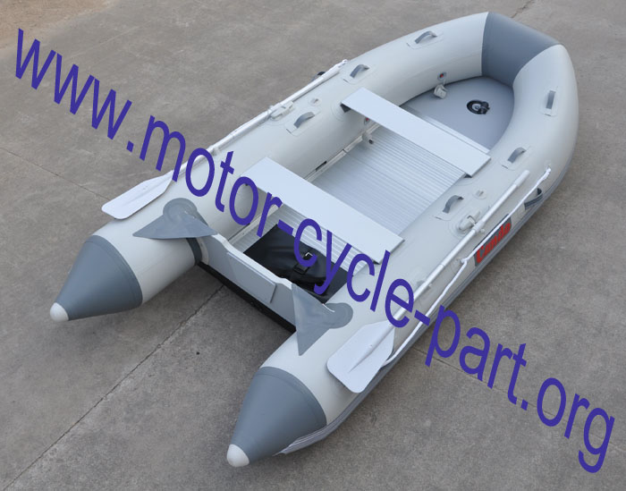 Rescue Boat With Aluminum Floor S380ALU
